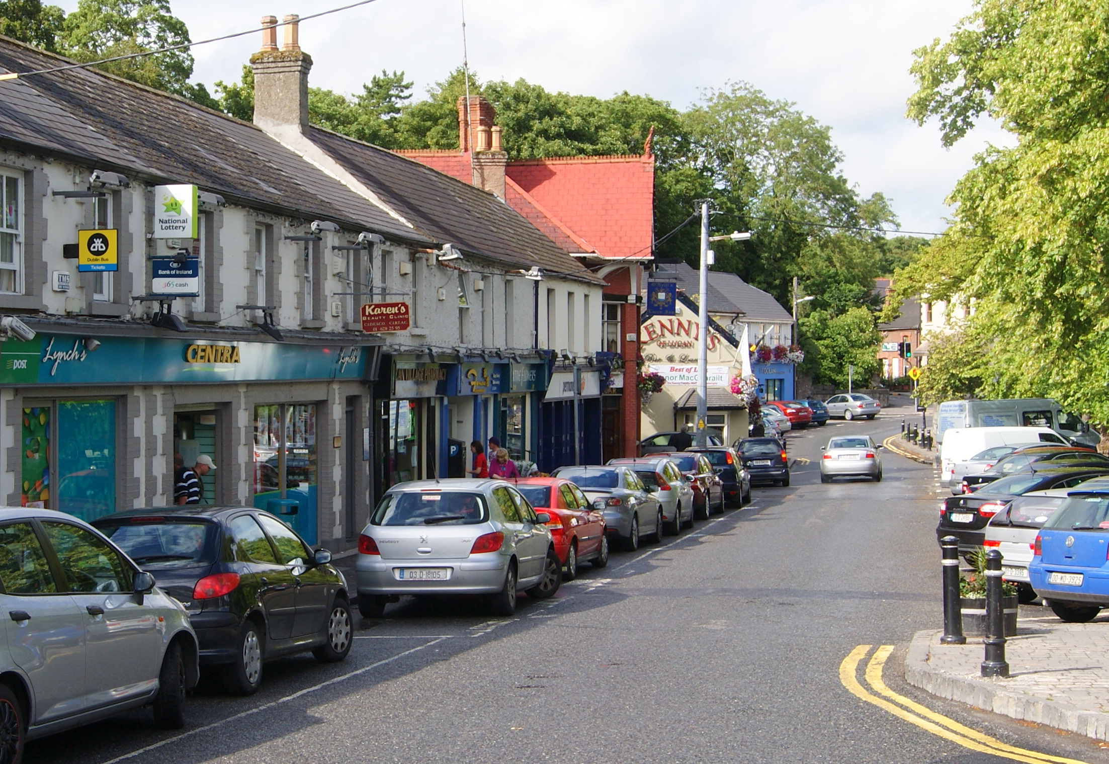 Image of Lucan Village in South Dublin